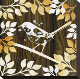 Birdie I Stretched Canvas Print by Erin Clark