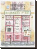 Brasserie Opspændt lærredstryk af Jane Claire
