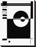 Yin & Yang Reproduction sur toile tendue par Dominique Gaudin