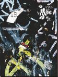 Black Bee Tag Leinwand von Jenny Kraft