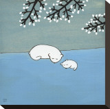 Follow Your Heart, Napping Under Marshmallow Tree Reproduction transférée sur toile par Kristiana Pärn