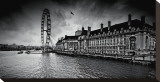 London Stretched Canvas Print by Marcin Stawiarz