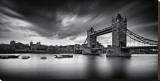 Puente de Londres Reproducción en lienzo de la lámina por Marcin Stawiarz