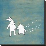 Follow Your Heart, Go Together Reproduction sur toile tendue par Kristiana Pärn