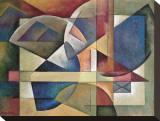 Esferas desplegadas Reproducción en lienzo de la lámina por Marlene Healey