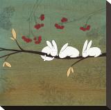 Outubro Impressão em tela esticada por Kristiana Pärn
