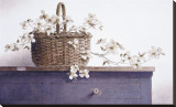 Branche de cornouille Reproduction transférée sur toile par Ray Hendershot
