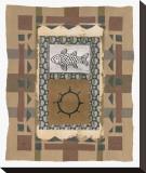 Gaia II Impressão em tela esticada por P. G. Gravele