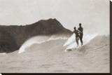 Tandem, 1931 Reproduction transférée sur toile par Tom Blake