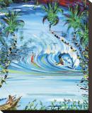 Current Tides Leinwand von Steven Valiere