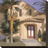 Los Feliz Stretched Canvas Print by William Buffett