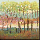 Color distante Reproducción en lienzo de la lámina por Libby Smart