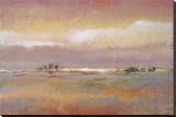 Colinas onduladas II Reproducción en lienzo de la lámina por T. J. Bridge