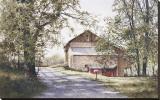 La maison sur la route Reproduction transférée sur toile par Ray Hendershot