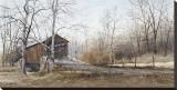 Le pont Kissin' Reproduction transférée sur toile par Ray Hendershot