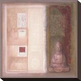 Ancient Wisdom Bedruckte aufgespannte Leinwand von  Verbeek & Van Den Broek