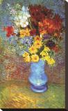 Vase with Anemone Impressão em tela esticada por Vincent van Gogh
