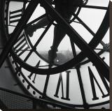 La grande horloge d'Orsay Reproduction sur toile tendue par Tom Artin