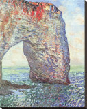 The Manneporte near Etretat, c.1886 Stretched Canvas Print by Claude Monet