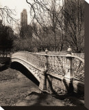 Central Park Bridges II Stretched Canvas Print by Christopher Bliss