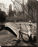 Central Park Bridges II Reproduction transférée sur toile par Christopher Bliss