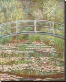 Water Lily Pond, c.1899 Impressão em tela esticada por Claude Monet