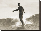 Waikiki, 1931 Stretched Canvas Print by Tom Blake