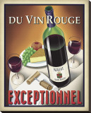 Du Vin Rouge Exceptionnel Stretched Canvas Print by Steve Forney