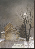 夜更かし キャンバスプリント : レイ・ヘンダーショット