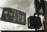 Buena Vista Sign, no. 2 Stretched Canvas Print by Christian Peacock