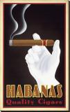 Habanas Quality Cigars キャンバスプリント : スティーブ・フォーニー