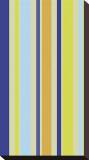 Kiwi Stripe Stretched Canvas Print by Dan Bleier