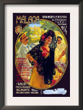 Malaga Grandes Fiestas Posters by Susan E. Meyer