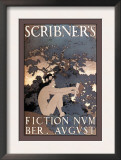 Scribner's Fiction, August 1897 Prints by Maxfield Parrish