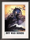 Buy War Bonds Art by Newell Convers Wyeth