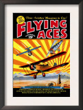 Flying Aces over the Rising Sun Posters by C. B. Mayshark