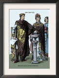 Emperor Justinian and Queen Theodora 482-565 Prints by Richard Brown