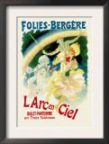 L'Arc En Ciel: Folies-Bergere Prints by Jules Chéret
