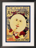 Chocolate Amatller: Barcelona Posters