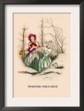 Primevere, Perce-Neige Prints by J.J. Grandville