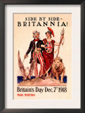 Side by Side, Britannia Prints by Susan E. Meyer