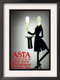 Asta Lampen Prints by Valdemar Andersen