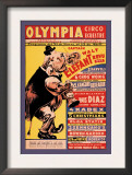 Olympia Circo Ecuestre Posters