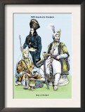 Raja of Cashmir, 19th Century Prints by Richard Brown