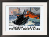They Kept the Sea Lanes Open, Invest in the Liberty Loan Print by Shafer