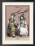 Chinese Concubines, 19th Century Posters by Richard Brown