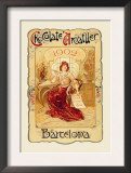 Chocolate Amatller: Barcelona, 1902 Prints