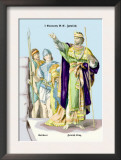 Soldiers and Jewish King, First Century B.C. Print by Richard Brown