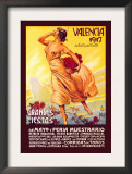 Valencia: Grande Fiestas de Mayo, 1917 Prints by Enrique Pertegaz