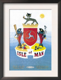 Isle of Man Poster by Daphne Padden